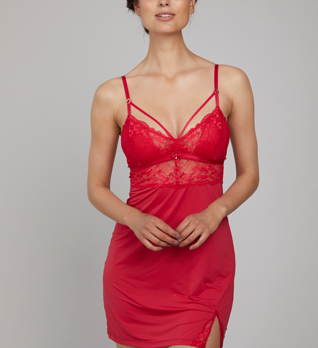 Charade Diane Chemise other Magical Red