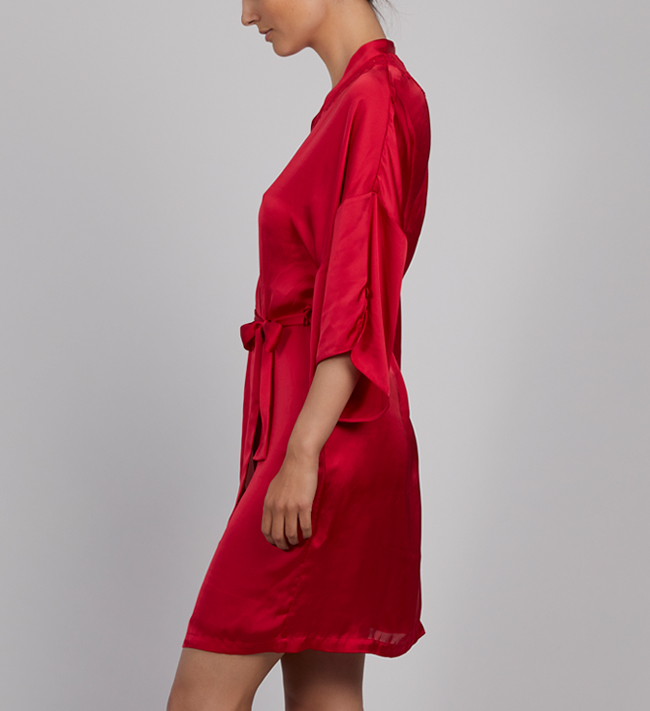 Charade Diane Kimono other Magical Red