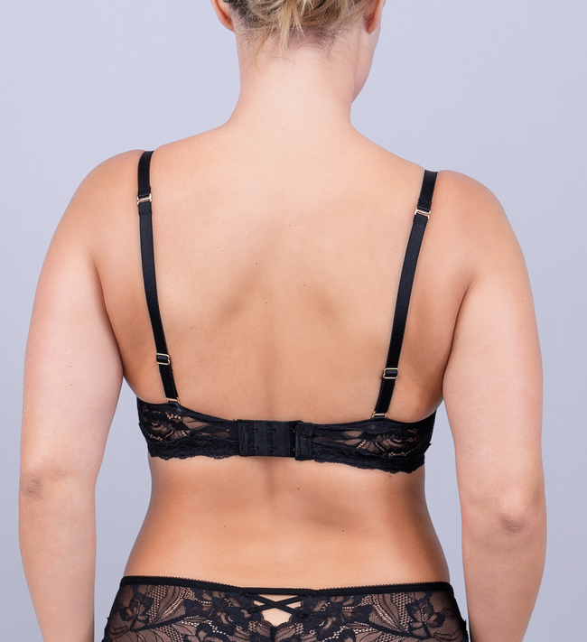 Charade Diane Seamless Push Up other Black